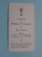 Jean STERCKX Op 14 Mei 1950 In De Kerk Van St. Willibrordus Te BERCHEM ( Zie/voir Photo ) ! - Communion