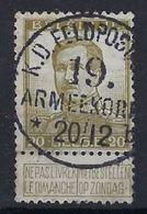 Nr. 119 Met ZELDZAME  Rondstempel Van K.D. FELDPOST 19 ARMEEKORPS 20/12 ; Staat Zie Scan ! Inzet 10 € ! - 1912 Pellens