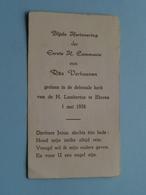 Rita VERHOEVEN Op 1 Mei 1958 In De Kerk Van De H. Lambertus Te EKEREN (zie/voir Photo) ! - Communion