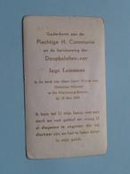 Inge LEMMENS Op 15 Mei 1955 In De Kerk Van O.L.Vrouw Van Gedurige Bijstand Te Ste MARIABURG Te EKEREN (zie/voir Photo) ! - Communion