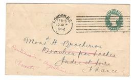 1682 - Entier Pour La France - 1902-1951 (Rois)