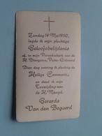 Gerarda Van Den BOGAERD Op 14 Mei 1950 In De Parochiekerk H. Dionysius Te PUTTE-ERTBRAND (zie/voir Photo) ! - Communion
