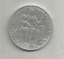 Monnaie , POLYNESIE FRANCAISE , 2008 , 5 F , 2 Scans - Polynésie Française
