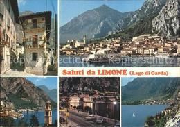 72394597 Limone Sul Garda Teilansichten Gardasee Gasse Hafen Firenze - Italy