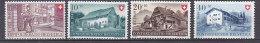 PGL BC196 - SUISSE SWITZERLAND Yv N°477/80 ** PRO PATRIA FETE NATIONALE - Pro Patria