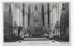 (RECTO / VERSO) AMIENS - N° 55 - LA NEF DE LA CATHEDRALE - CPA VOYAGEE - Amiens