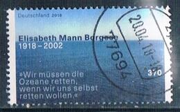 2018  100. Geburtstag Von Elisabeth Mann-Borghese - Oblitérés