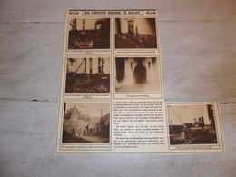 """Origineel Knipsel ( 1310 ) Uit Tijdschrift """" Ons Land In Woord En Beeld """" 1927  :  Brand Aalst   Alost - Alte Papiere"""