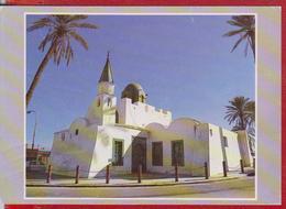 CHURCH LIBYA POSTCARD USED - Libya