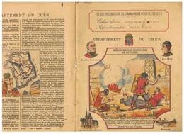 JM21.04 / PROTEGE- CAHIERS - /  DEPARTEMENT DU CHER ( BOURGES-VIERZON...) / HEROISME DES HABITANTS DE BOURGES - Copertine Di Libri