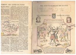 JM21.04 / PROTEGE- CAHIERS - /  DEPARTEMENT DES COTES-DU-NORD ( SAINT-BRIEUX - GUINGAMP...) / COMBAT DE CANTERBURY.... - Book Covers