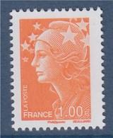 Marianne De Beaujard, N°4235a Neuf Gommé 1.00€ Orange - 2008-13 Marianne De Beaujard