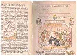 JM21.04 / PROTEGE- CAHIERS - /  DEPARTEMENT DE SEINE-ET-MARNE ( MELUN-PROVINS...) / ASSASSINAT DE JEAN-SANS-PEUR - Copertine Di Libri