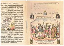 JM21.04 / PROTEGE- CAHIERS - /  DEPARTEMENT DE L AISNE ( LAON-SOISSONS...) / LE VASE DE SOISSONS - Copertine Di Libri