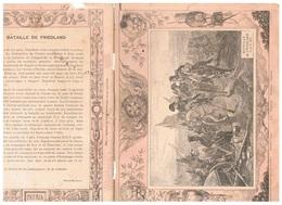 JM21.04 / PROTEGE- CAHIERS - /  LA BATAILLE DE FRIEDLAND JUIN 1807 - NAPOLEON... - Copertine Di Libri