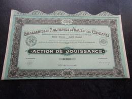 BRASSERIES MALTERIES D'ALAIS ET DES CEVENNES (jouissance) ALES-GARD - Shareholdings
