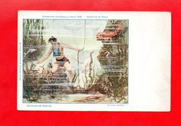 """75 - Paris : Exposition Universelle De 1900, """" Aquarium De Paris """", Cpa - Mostre"""