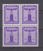 MiNr. 159 ** Viererblock - Deutschland