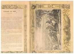 JM21.04 / PROTEGE- CAHIERS - /  LE PASSAGE DU RHIN JUIN 1672 / LOUIS XIV - CONDE..... - Copertine Di Libri