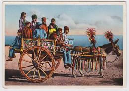 Carretto Siciliano Viaggiata 1953 # - Unclassified