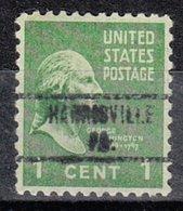 USA Precancel Vorausentwertung Preo, Locals Pennsylvania, Harrisville 734 - Préoblitérés