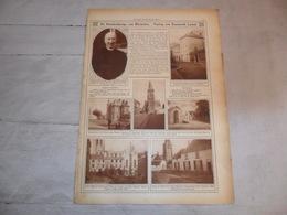 """Origineel Knipsel ( 1214 ) Uit Tijdschrift """" Ons Land In Woord  """" 1926 : Kampenhout Mechelen Steenokkerzeel Leuven Lamal - Collections"""