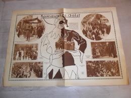 """Origineel Knipsel ( 1218 ) Uit Tijdschrift """" Ons Land In Woord En Beeld  """" 1929 : Carnaval Karnaval Aalst  Alost - Collections"""