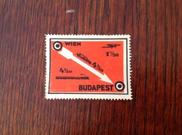 Vienne Budapest Par Avion Sans Gomme - Zonder Classificatie