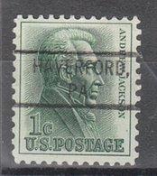 USA Precancel Vorausentwertung Preo, Locals Pennsylvania, Haverford 804 - Vereinigte Staaten