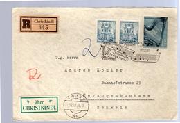 1959 Stille Nacht, Heige Nacht Christlkind > Herzogenbuchsee Andreas Kohler (314) - 1945-60 Briefe U. Dokumente