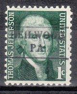 USA Precancel Vorausentwertung Preo, Locals Pennsylvania, Heilwood 882 - Vereinigte Staaten