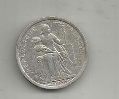 Monnaie , POLYNESIE FRANCAISE , 1985 , 1 F , 2 Scans - Polynésie Française