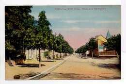 - CPA ROMILLY-SUR-SEINE (10) - Entrée De La Rue Gambetta - Collection Cauley - - Romilly-sur-Seine