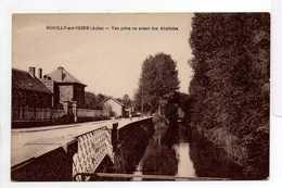 - CPA ROMILLY-SUR-SEINE (10) - Vue Prise En Avant Des Abattoirs - - Romilly-sur-Seine