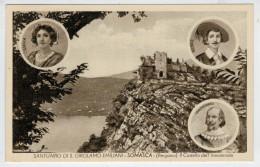 SOMASCA (BG)  SANTUARIO DI S. GIROLAMO  EMILIANI--IL  CASTELLO DELL' INNOMINATO   (VIAGGIATA) - Italy