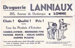 Rare Buvard Germaine Bouret Droguerie LANNIAUX Lomme Nord (voir Description) - Carte Assorbenti