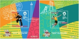 IHI - Indonesia Souvenir Sheet Asian Games 2018 - Indonesia