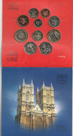 United Kingdom Brilliant Uncirculated Coin Collection BU - Grand Bretaña