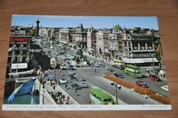 92- O'Connell Street, Dublin, Ireland -Cars Autos Bus - 1967 - Dublin