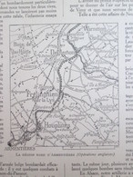 Guerre 14-18 Semaine Militaire  20 Au 27  Janvier 1916 ARMENTIERES Houplines   Frelinghien  Deulemont   Warneton + Carte - Unclassified