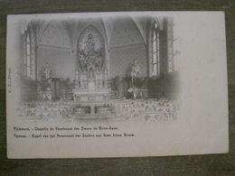 Cpa Tirlemont ( Tienen ) - Chapelle Du Pensionnat Des Soeurs De Notre-Dame - Karel - CL Brux - Tienen