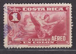 Costa Rica 1934 Mi. 174    1 Col Allegorie Der Luftfahrt Flugpostmarke - Costa Rica