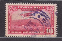 Costa Rica 1934 Mi. 166    10 C. Flugzeug über Der 'Sabana' Dem Flughafen Von San José - Costa Rica