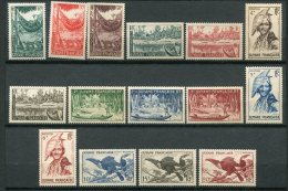 6571   GUYANE    N° 201/17*      1947    TB - French Guiana (1886-1949)