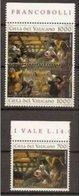 1994 Vaticano Vatican TINTORETTO  NATALE Serie Di 3v. Con Bordo MNH** - Natale