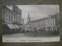 Cpa Tirlemont ( Tienen ) - Marché Aux Poulets - N 1803 G H Ed A - Tienen