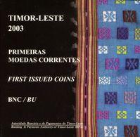 Timor Leste Coin Set 2003 - Timor