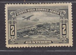 Costa Rica 1937 Mi. 204    2 C. Puntarenas, MH* - Costa Rica