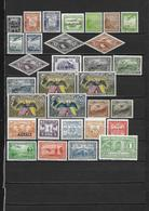 AMERIQUE DU SUD - Poste Aérienne Années 31  - 7 Pays - 30 Timbres **  - Cote YT : 15 Euros - Stamps