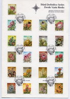 SOUTH AFRICA 1977 3rd Definitive Set Complete, Cancelled In Presentation Folder. - South Africa (1961-...)
